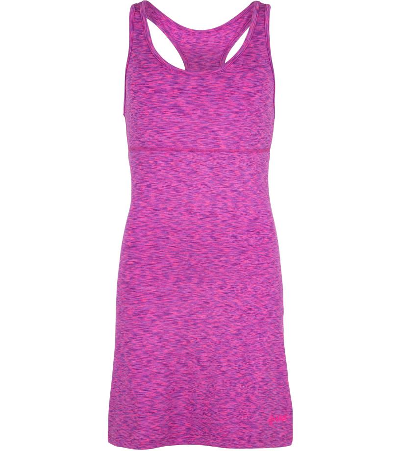 KILPI Dámské šaty SONORA-W GL0070KIPNK Růžová 38