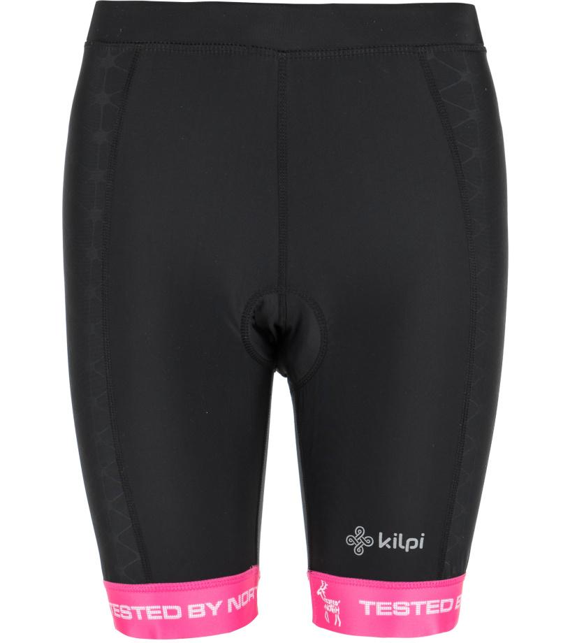KILPI Dámské cyklistické šortky PRESSURE-W GL0110KIPNK Růžová 36