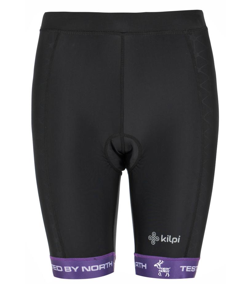 KILPI Dámské cyklistické šortky PRESSURE-W GL0110KIVLT Fialová 36