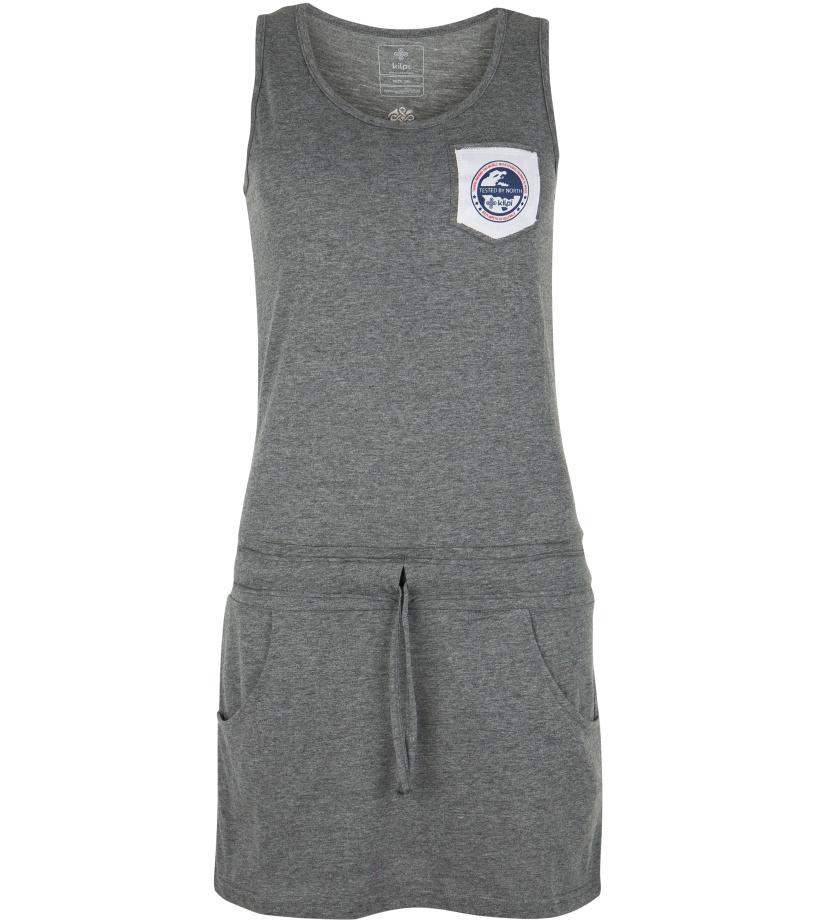 KILPI Dámské šaty FANTASIA-W GL0140KIDGY Tmavě šedá 38
