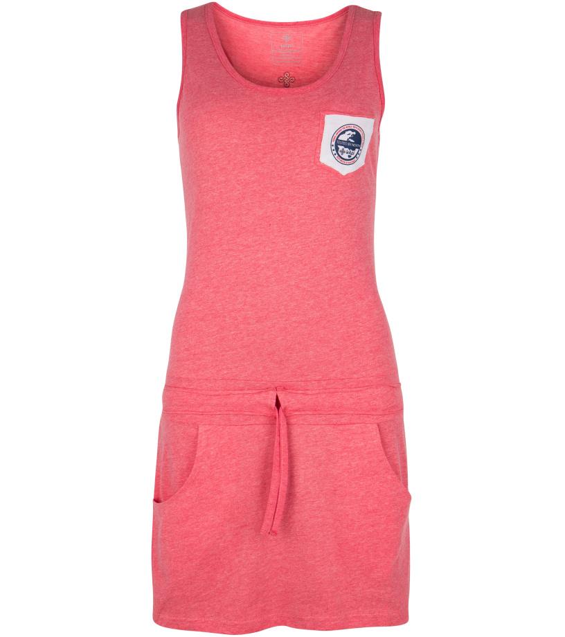 KILPI Dámské šaty FANTASIA-W GL0140KIPNK Růžová 34
