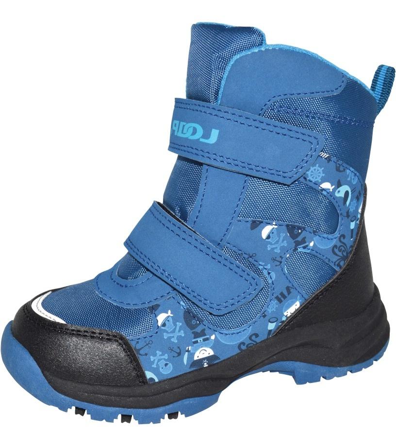 LOAP CHOSEE Dětská zimní obuv KBK1644L94L modrá 27