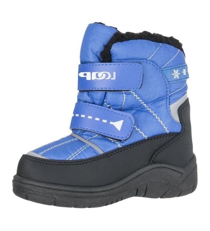 LOAP JODY Dětské zimní boty KBU1507L45V modrá/černá 31