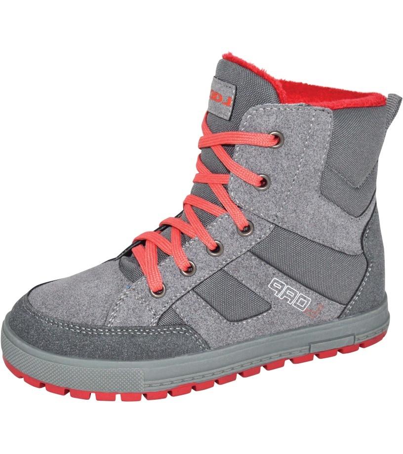 LOAP VEONA Dámská zimní obuv SBL1630T52J šedá