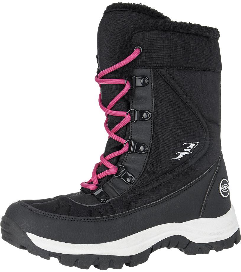 LOAP FROZE Dámská zimní obuv SBL1633V11J černá/červená 38