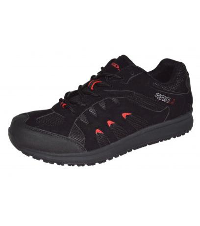 LOAP MERIO Pánská outdoorová obuv HSM1692V11G černá/tomato