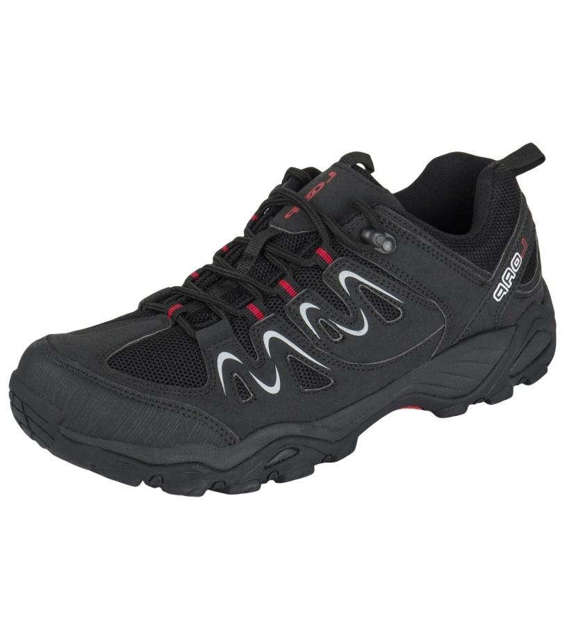 LOAP SHER Pánská outdoorová obuv HSU1642V11G černá/tomato 45