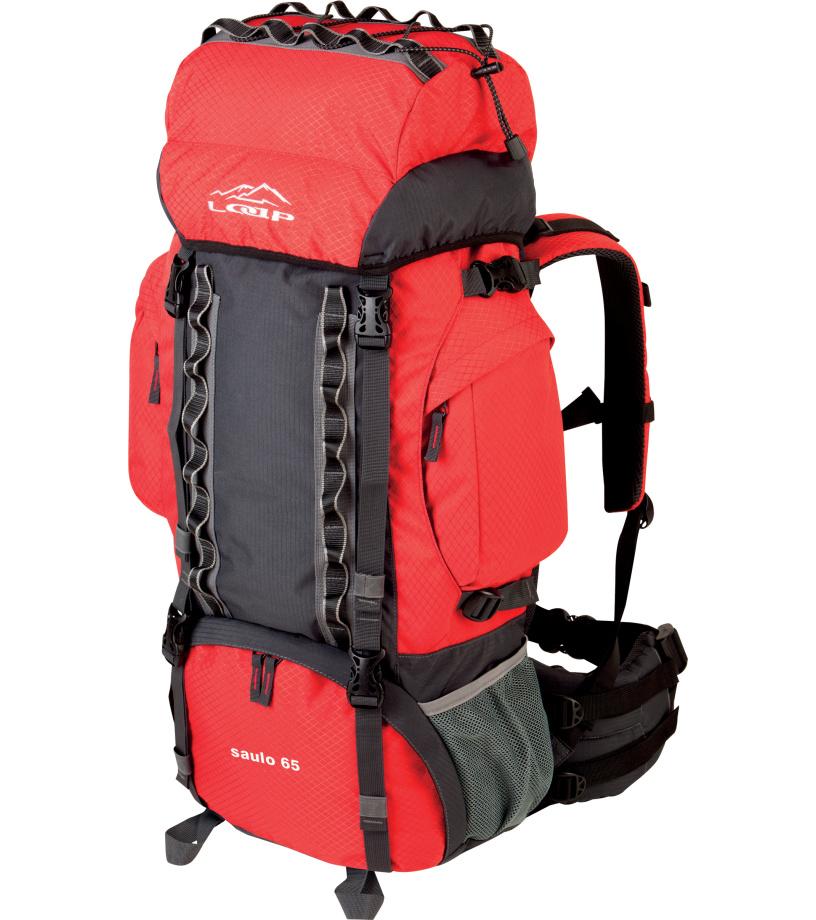 LOAP SAULO 65 Turistický batoh 65 BE1706G19T červená cb43d6a39e