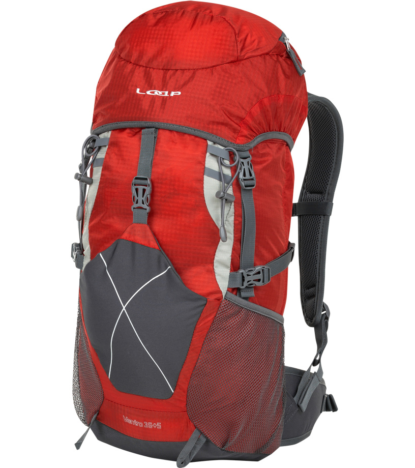 LOAP VENTRO 36+5 Hikingový batoh BH1434G19T červená e0deb286d3