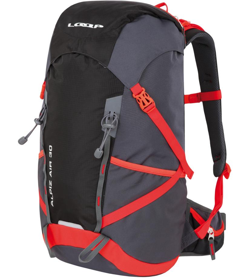 627fc9915b4 LOAP ALPIZ AIR 30 Hikingový batoh BH1766T15G dk.shadow červená