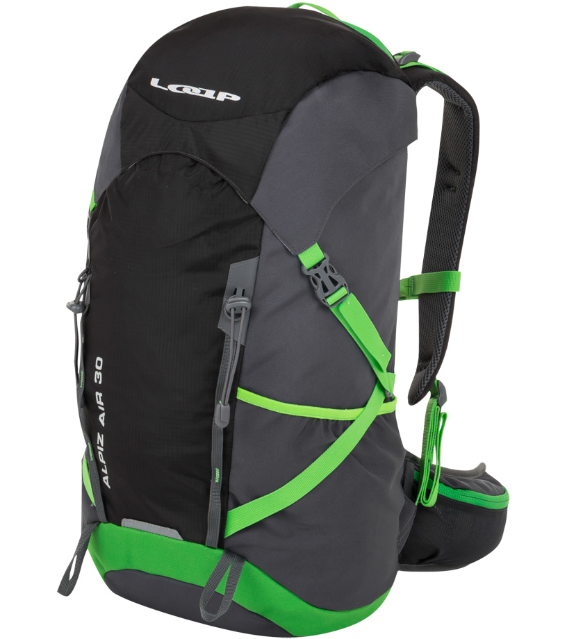b93bb2a4ff3 LOAP ALPIZ AIR 30 Hikingový batoh BH1766V11N černá lime punch