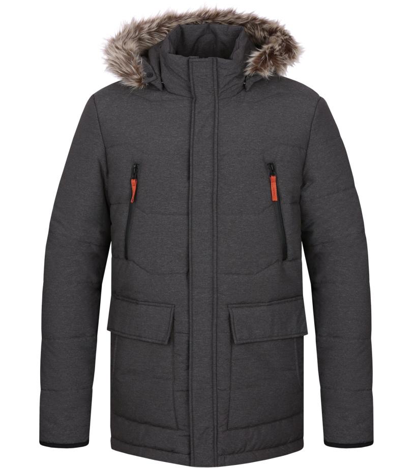 LOAP TRON Pánská zimní bunda CLM1738T49X šedá