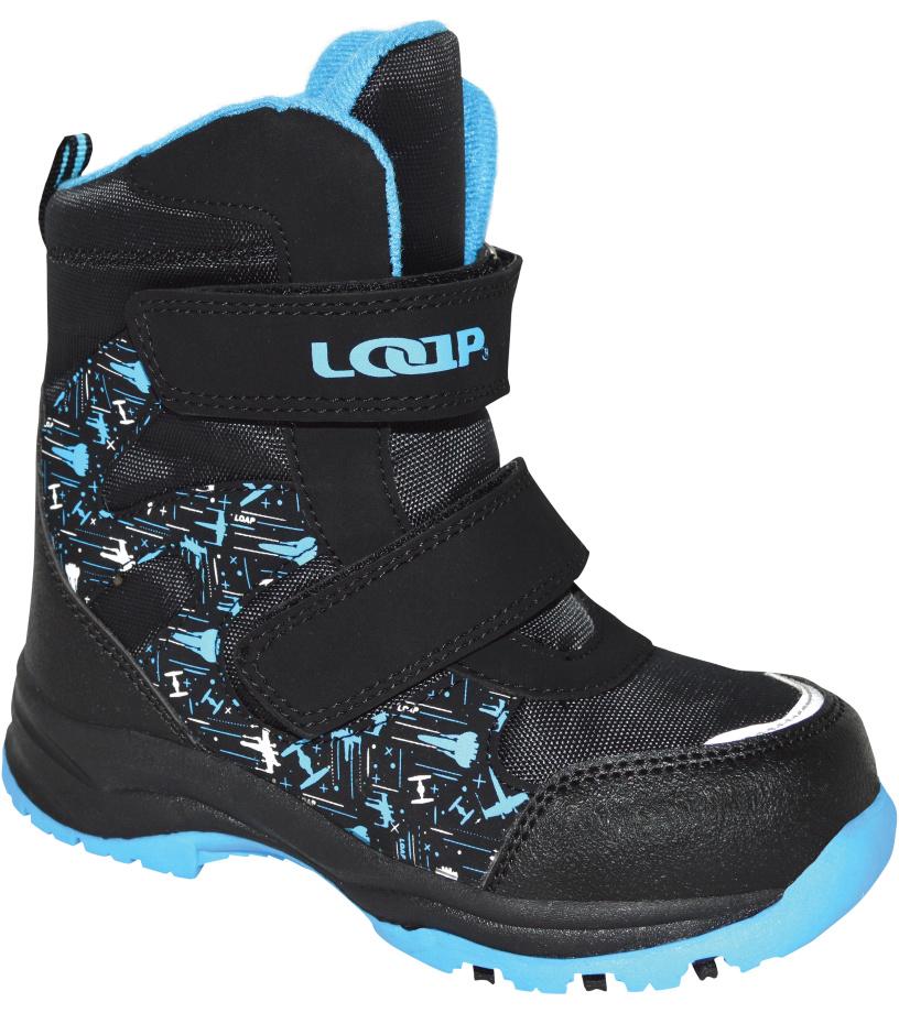 LOAP CHOSEE Dětská zimní obuv KBK1644V20L m.night/skydiver