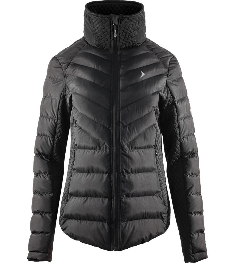 Outhorn Dámská zimní bunda KUD600AHOZ17BLK černá XL