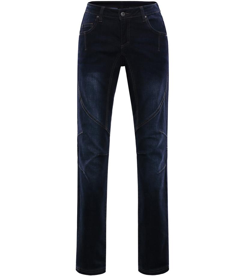ALPINE PRO CHIZOBA Dámské riflové kalhoty LPAL212602 mood indigo 36