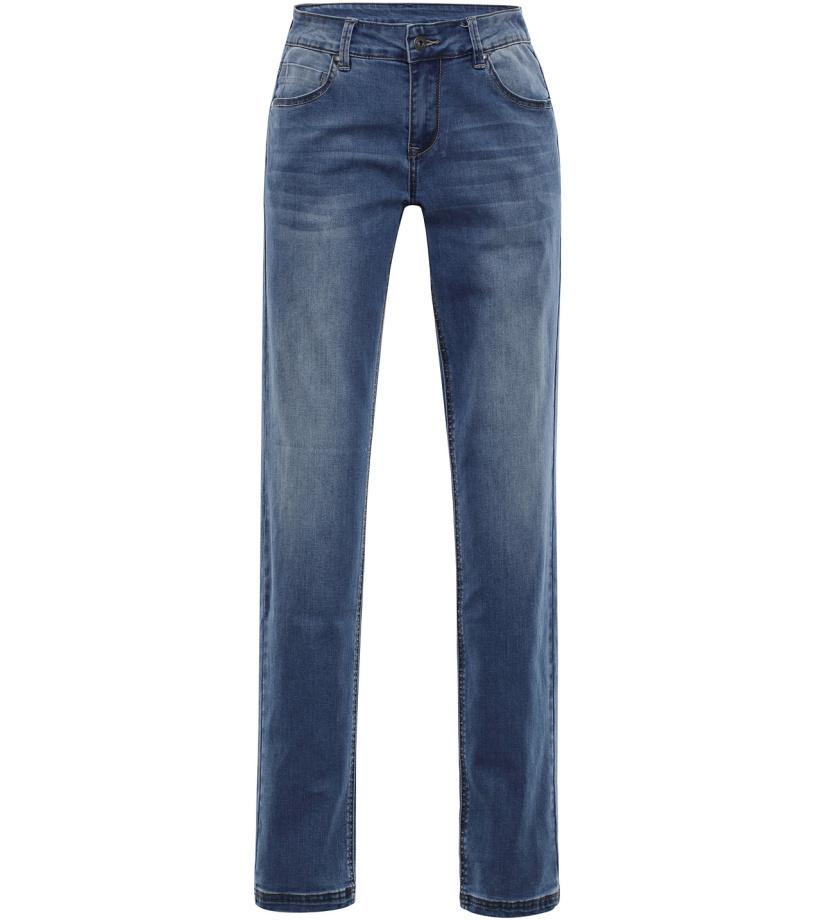 ALPINE PRO PAMPA 2 Dámské riflové kalhoty LPAL219665 tmavá ocelověmodrá 44