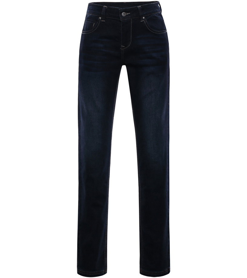 ALPINE PRO PAMPA 2 Dámské riflové kalhoty LPAL219990 černá 40