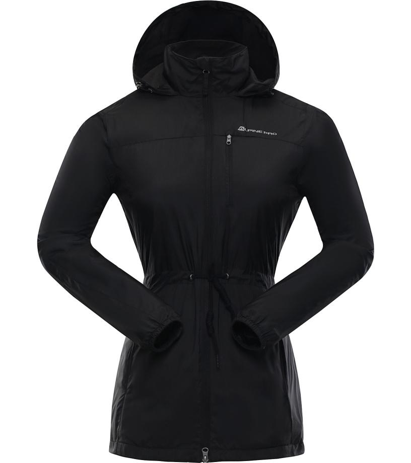 ALPINE PRO GOANITTA Dámský kabát LCTJ030990 černá S-L
