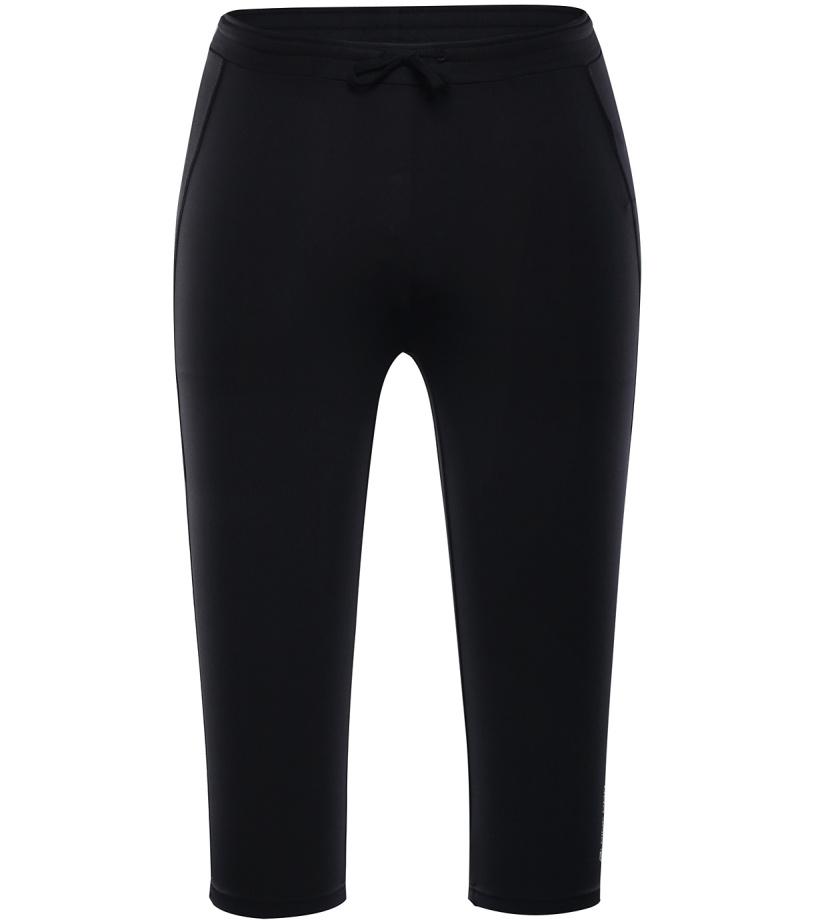 ALPINE PRO ENZO Pánské capri kalhoty MPAJ101990 černá M
