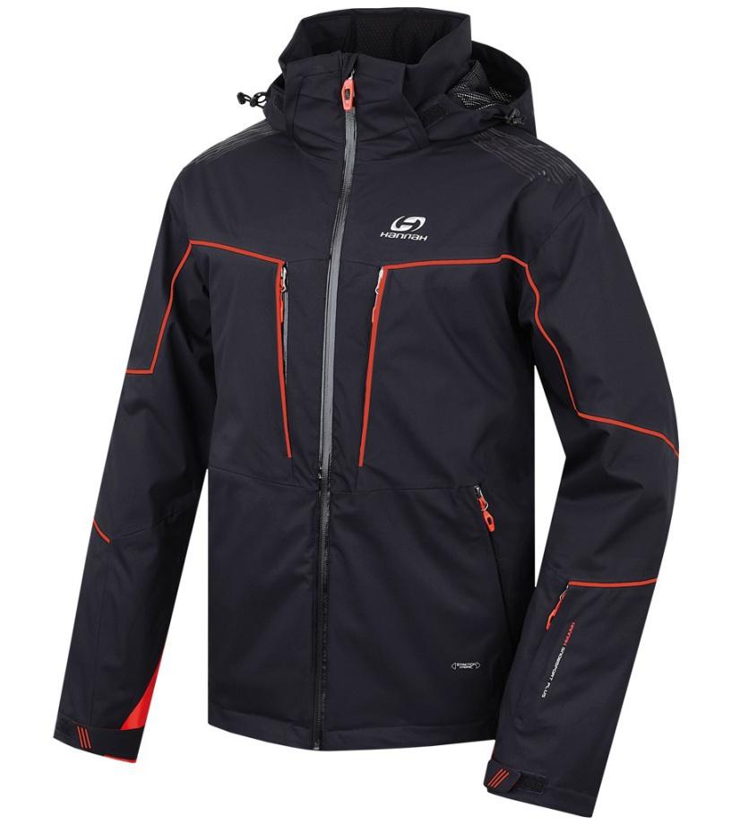 HANNAH Prime Pánská lyžařská bunda 215HH0001HJ01 anthracite M