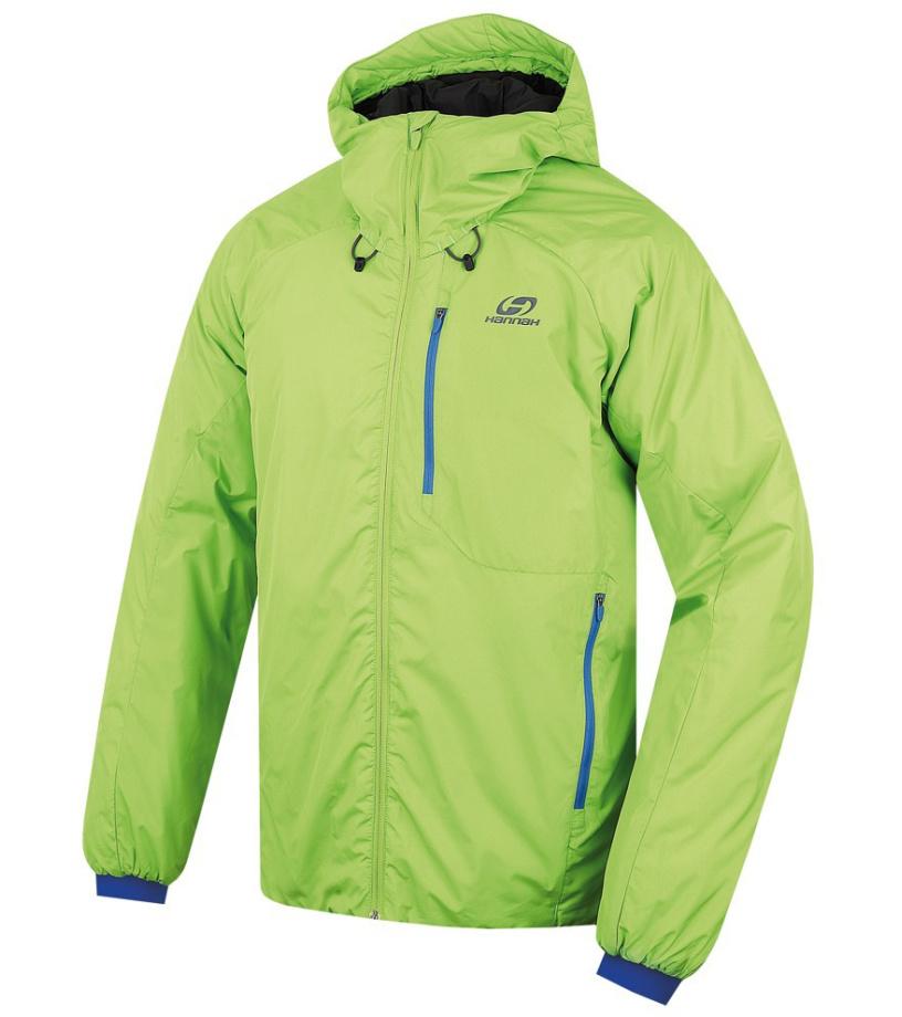 HANNAH Gabber Pánská bunda 215HH0001LJ02 Lime green