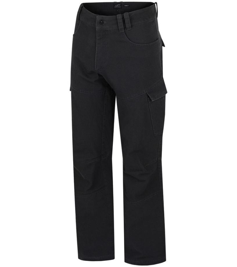 HANNAH Plaxo Pánské kalhoty 215HH0001LP01 Raven M