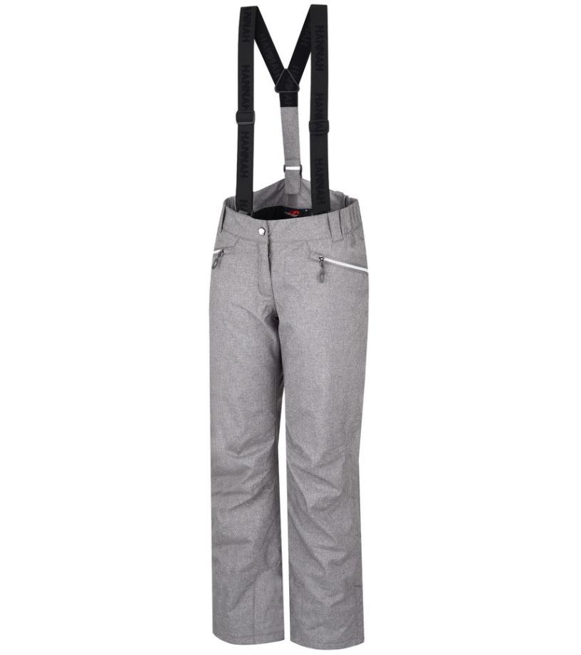 HANNAH Wrenn Dámské lyžařské kalhoty 215HH0004HP05 Gray mel 42