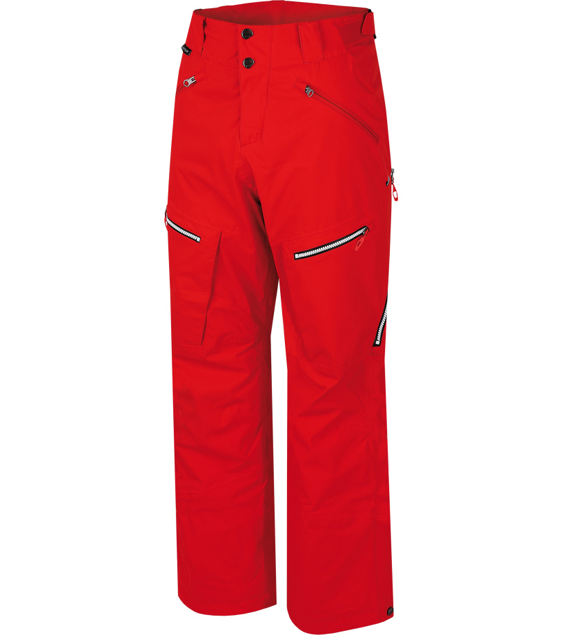 HANNAH Ferrell II Pánské lyžařské kalhoty 215HH0005HP02 Fiery red L
