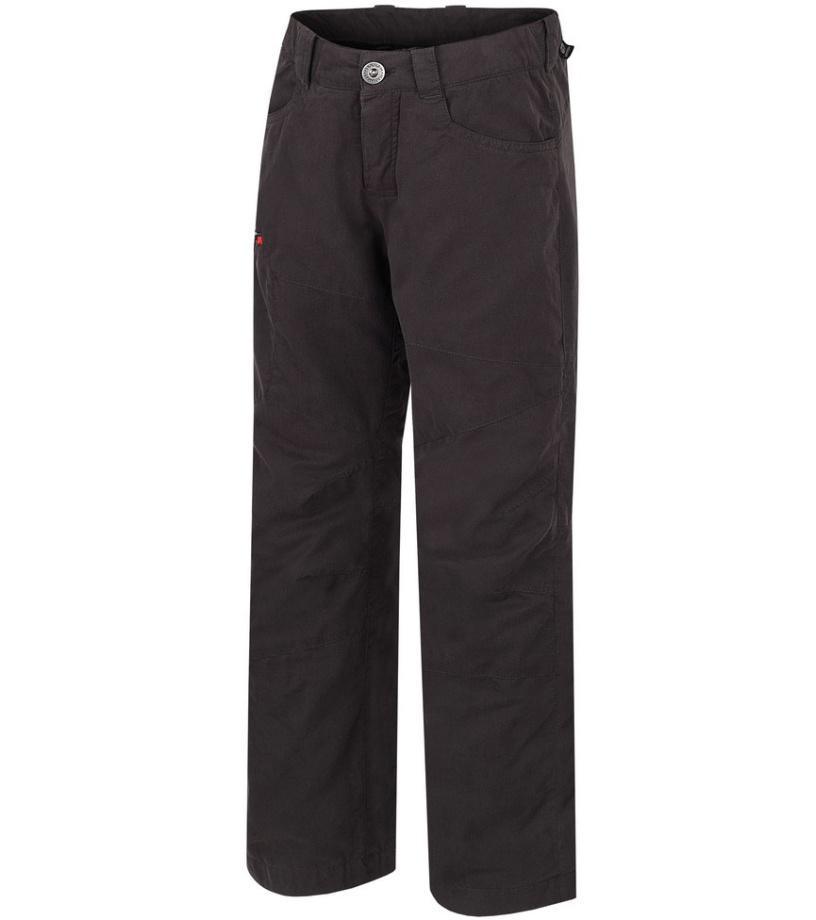 HANNAH Winston JR Dětské zateplené kalhoty 215HH0007LP01 Raven (red) 140