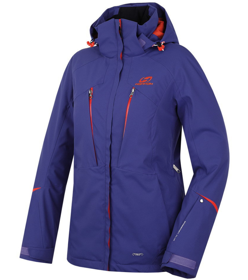 HANNAH Ashley Dámská lyžařská bunda 215HH0008HJ03 Navy blue 36