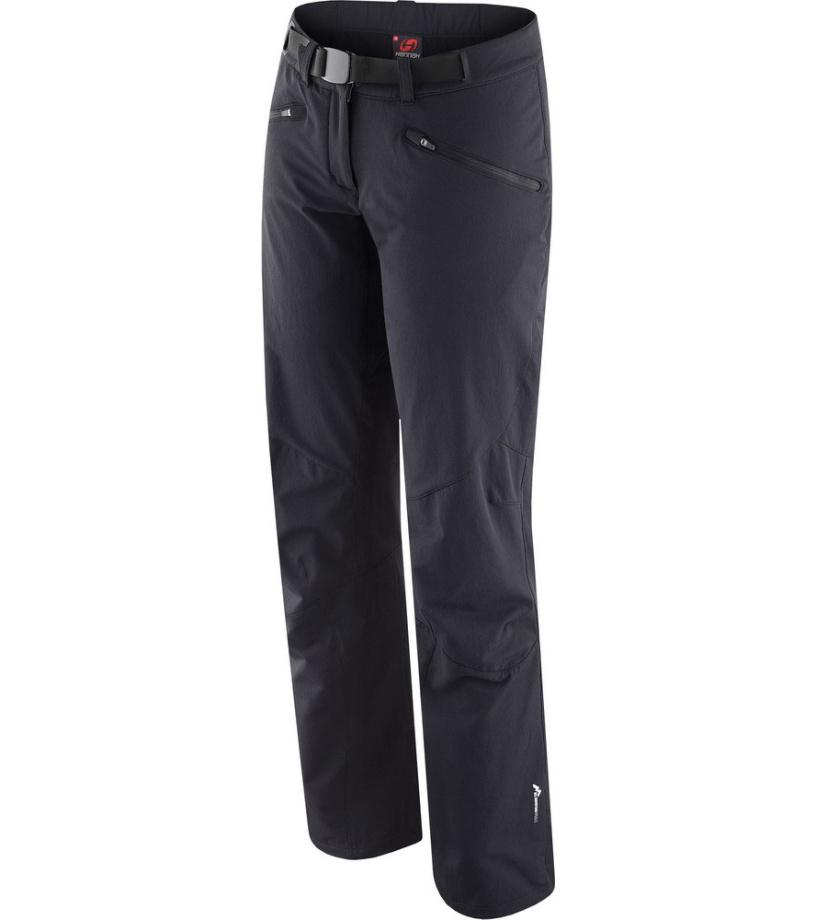 HANNAH Meya Dámské softshellové kalhoty 215HH0008SP01 anthracite 38
