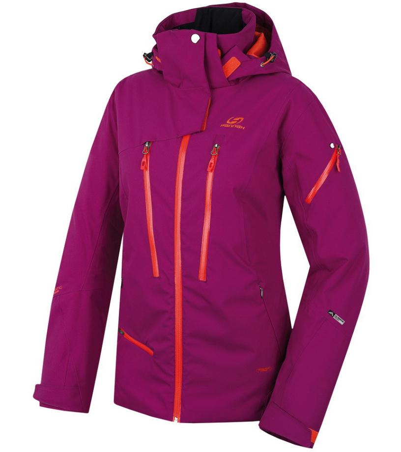 HANNAH Noreen Dámská lyžařská bunda 215HH0014HJ02 Grape juice 40