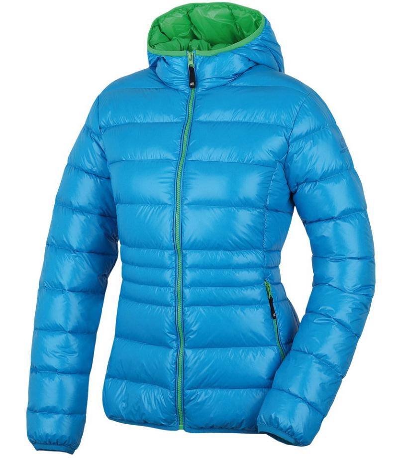 HANNAH Betlis Dámská péřová bunda 215HH0028HJ03 Blue/green 34
