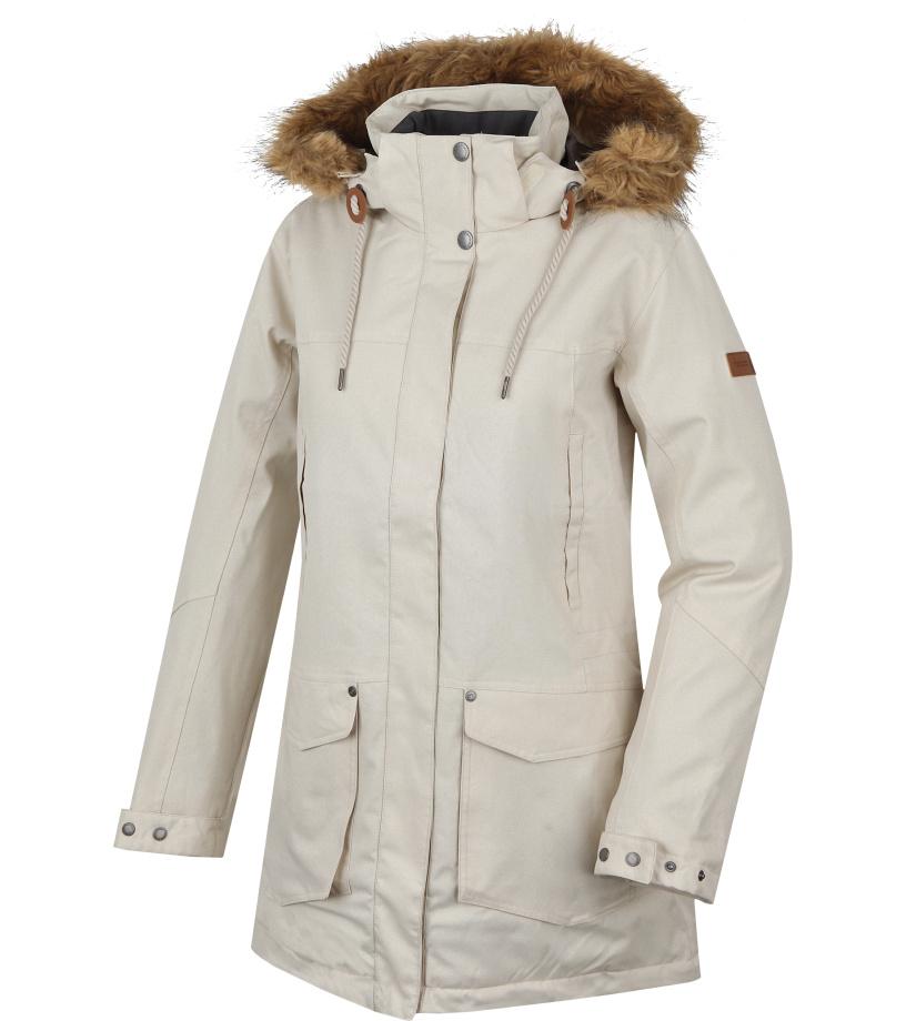HANNAH Mirtha Dámská zimní bunda 215HH0029HJ01 Light gray 42