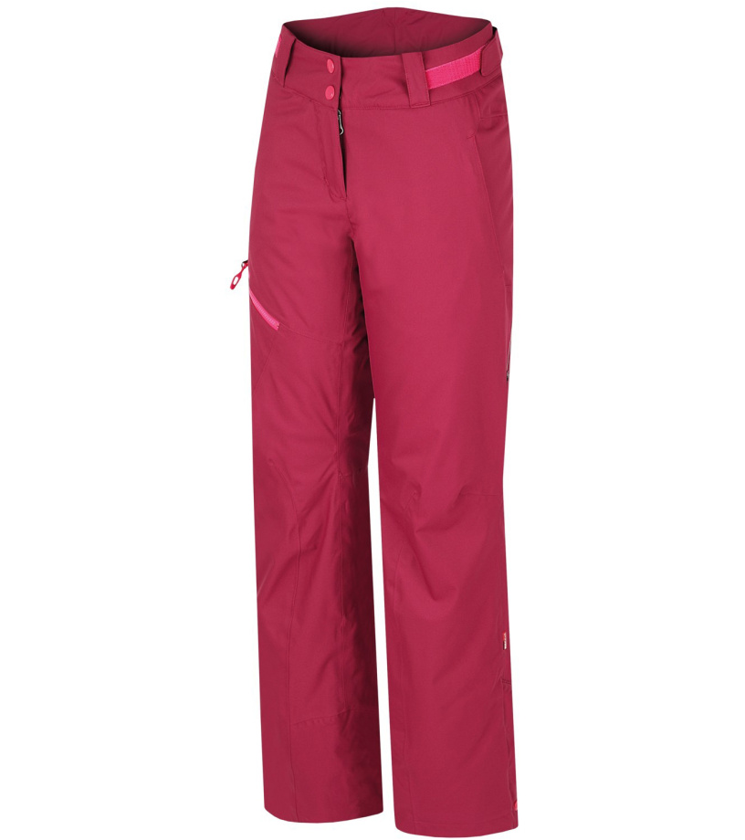 HANNAH Tibi Dámské lyžařské kalhoty 216HH0062HP02 Beaujolais