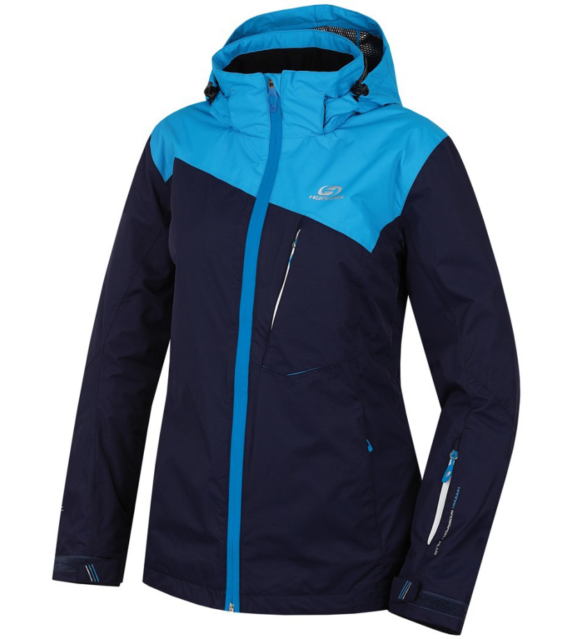 HANNAH Wayne Dámská lyžařská bunda 216HH0065HJ04 Peacoat/blue jewel 36