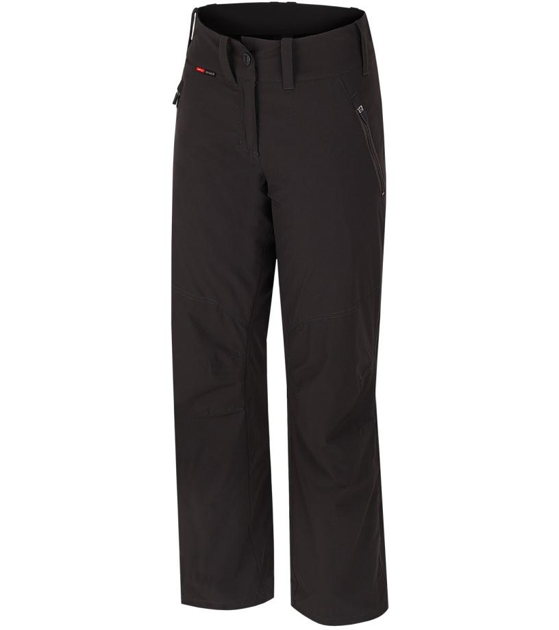 HANNAH Jefry Dámské zateplené kalhoty 216HH0083LP01 Raven