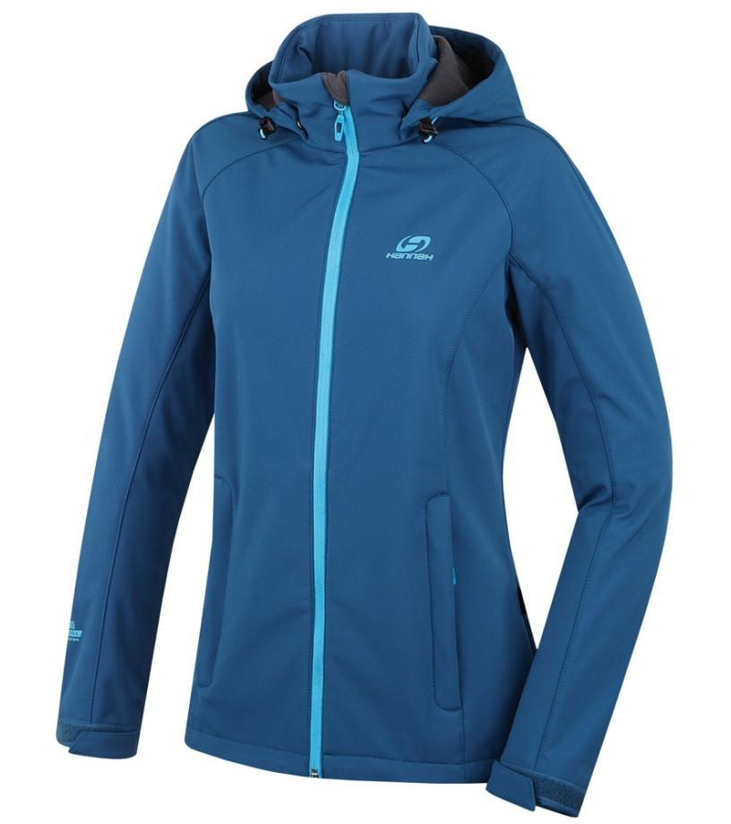 HANNAH Elle Dámská softshellová bunda 216HH0092SJ04 Moroccan blue 36
