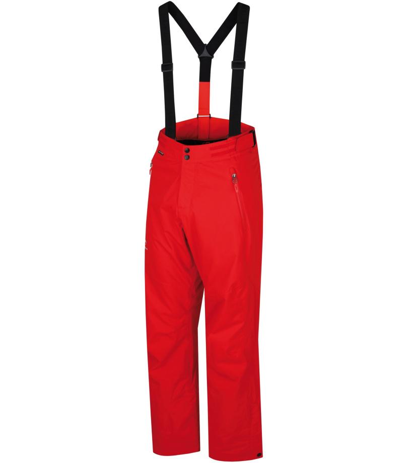 HANNAH Stig Pánské lyžařské kalhoty 216HH0152HP02 Fiery red L