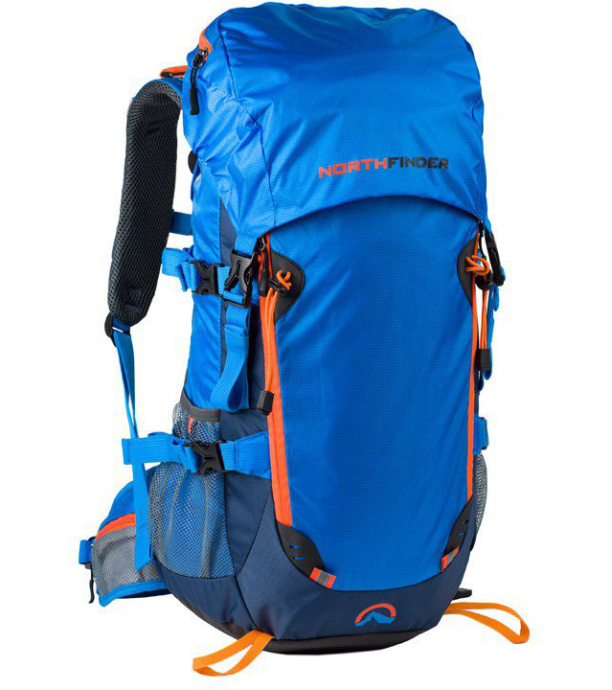 fcd3c79db54 NORTHFINDER CALGARY Turistický batoh BP-1022OR396 světle modrá 30L