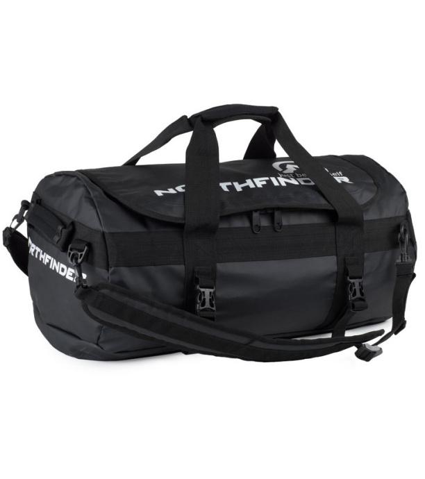 dcb84aaf647 NORTHFINDER ROMA Cestovní batoh taška 45l BP-1025OR269 černá 45L