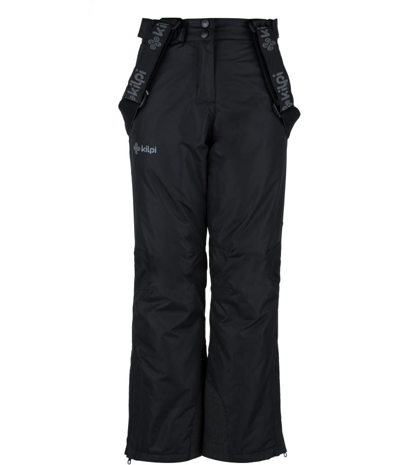 KILPI Dívčí lyžařské kalhoty ELARE-JG JJ0023KIBLK Černá 134