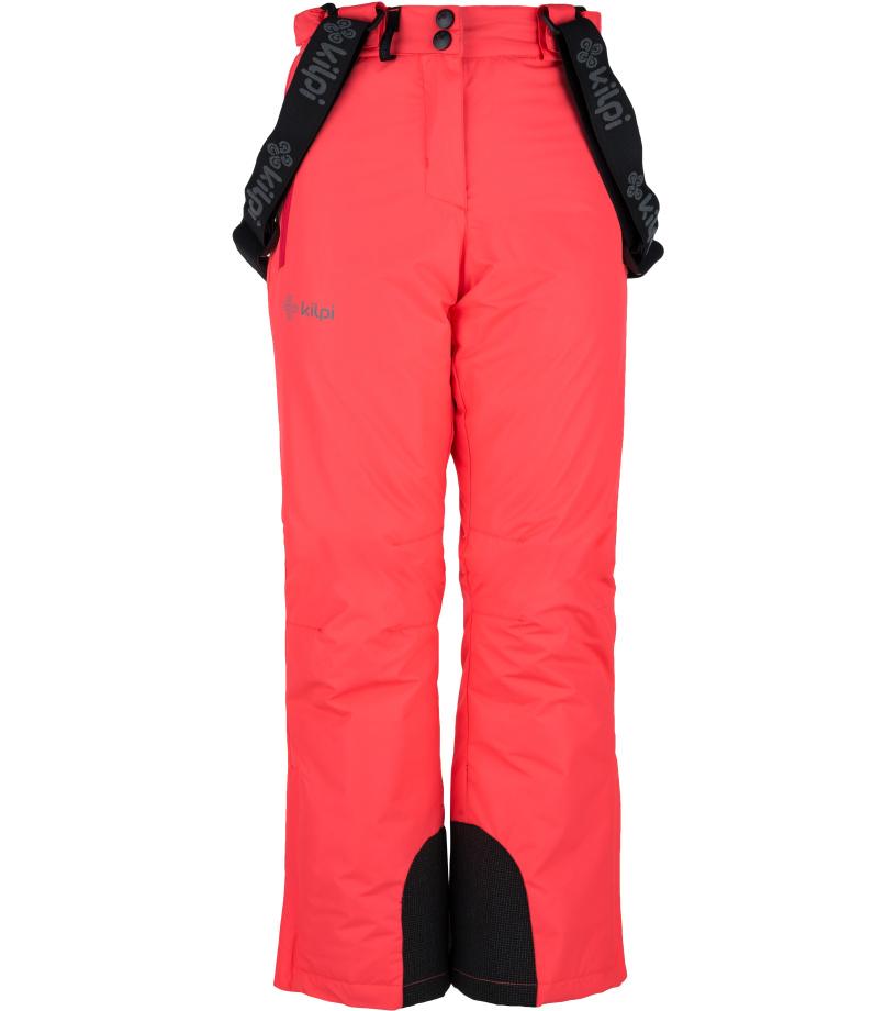 KILPI Dívčí lyžařské kalhoty ELARE-JG JJ0023KIPNK Růžová 134