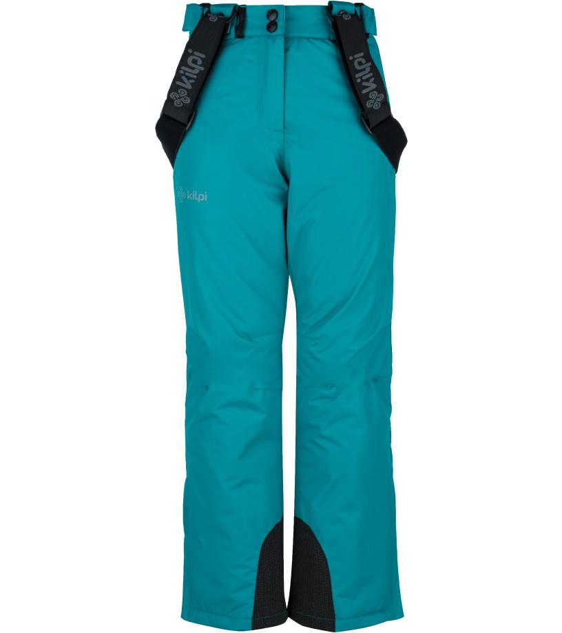 KILPI Dívčí lyžařské kalhoty ELARE-JG JJ0023KITRQ Tyrkysová 134