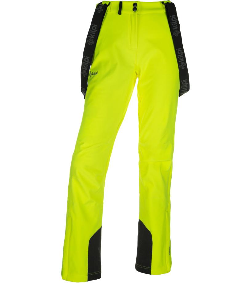 KILPI Dámské softshellové kalhoty RHEA-W JL0907KIYEL Žlutá