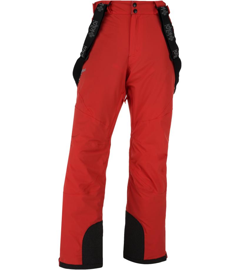 KILPI Pánské lyžařské kalhoty METHONE-M JM0012KIRED Červená