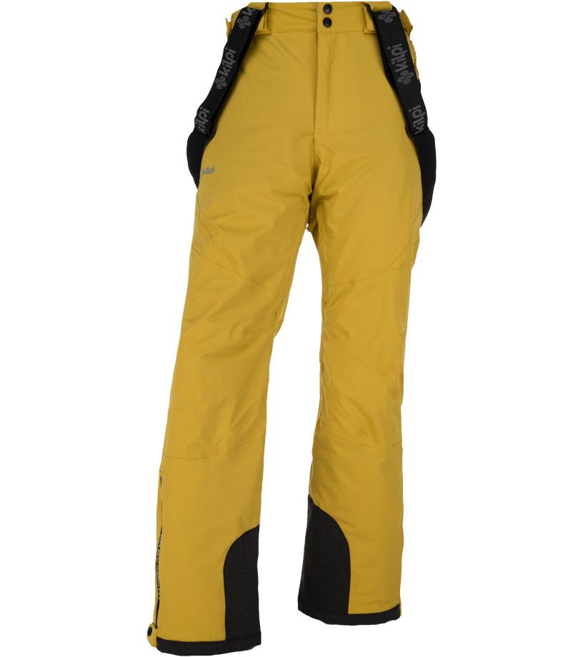 KILPI Pánské lyžařské kalhoty METHONE-M JM0012KIYEL Žlutá