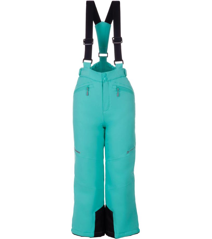 ALPINE PRO ANIKO 2 Dětské lyžařské kalhoty KPAM122547 Cockatoo 128-134