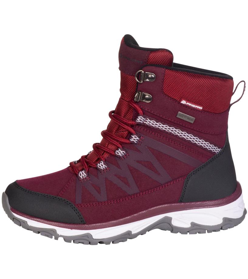 ALPINE PRO CAZA Dámská zimní obuv LBTM186814 ostružinová