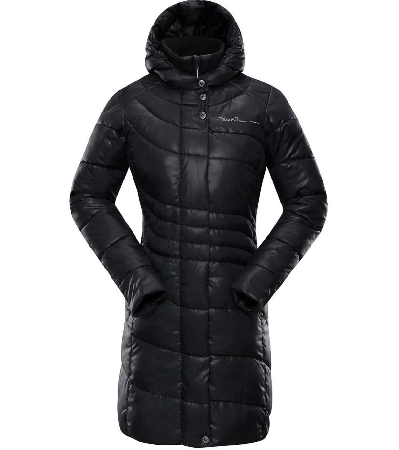 3bfacd2884e ALPINE PRO OMEGA 2 Dámský kabát LCTM025990 černá L-L